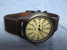 """Men's TIMEX """"Expedition"""" Water Resistant Watch w/ Backlight & New Battery"""