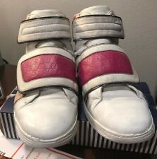 Authentic Gucci Kids Leather Coda Pop High-top Sneaker 301354 size 33/Us 2
