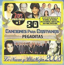 NEW 30 Para Cristianos Pegaditas. Lo Nuevo Y Lo Mejor 2008 (Audio CD)