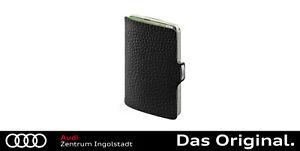 Original Audi I-CLIP the wallet, schwarz/silber 3152000700