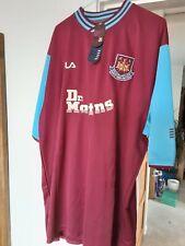 Brand New Mens West Ham United Football Shirt 2001 Fila Top