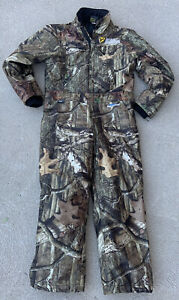 Scent Blocker Youth Boy's Medium Insulated Camo Hunting Suit Mossy Oak