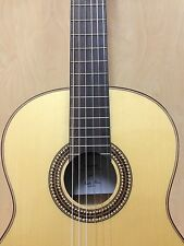 4/4 Klema K10C Solid Spruce Top Classical Guitar+Free Gig Bag,Extra String Set