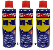 WD-40, USA | MULTI-USE Lubricant Spray | 3 x 400 ml | WD 40 | techsolute.com