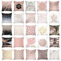 Linen Cotton Throw Waist Pillow Case Cushion Cover Home Room Sofa Decor Fashion