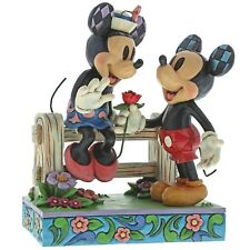 Disney Traditions 6000969 Blossoming Romance Mickey and Minnie Mouse Figurine