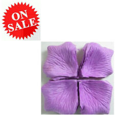Rose Petals Dark Purple Silk Artificial Flower Wedding Party Confett Table Decor