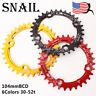 SNAIL 104bcd 30-52t Chainring MTB Bike Crankset Crank Fit Shimano SRAM Chainset