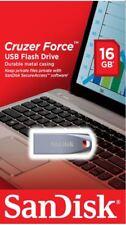 GENUINE SanDisk 16GB CRUZER FORCE USB Flash Drive CZ71 USB 2.0 Memory Stick