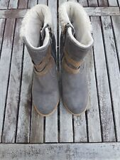 Boots, Absatz 3,5 cm, grau von RIEKER jetzt bei brands4friends.