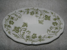 J&G MEAKIN Windsong Green Side Sandwich Cake Desert Plate