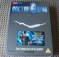 DVD Steelbook: Doctor Who : The Complete Fifth Series : Numbered Ltd Ed Sealed