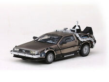 DeLorean DMC 12 Back to the Future Part I Diecast Stainless by Spark   SS24012