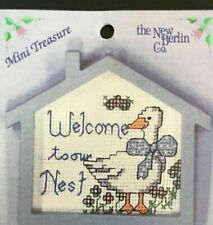 Cross Stitch Pattern Welcome to the Nest Pattern Card (New Berlin)