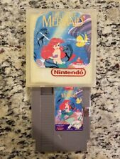 The Little Mermaid Nes NINTENDO NO MANUAL FREE SHIPPING