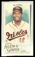 2020 Topps Allen and Ginter A&G Back No Number NNO Mini #134 Roberto Alomar