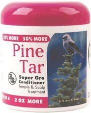 BB Pine Tar Super Gro Conditioner Temple Scalp Itchy Danduff Hair Treatment 6oz