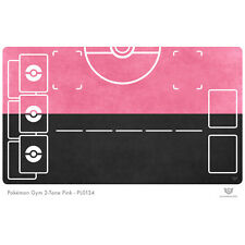 Pokemon Gym Playmat 2-Tone Pink - Pokemon Play Mat (PL0134)
