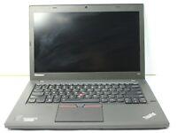 "Lenovo ThinkPad T450 14"" Intel i5 8 GB RAM 128 GB SSD Win 10 WiFi B Grade Laptop"
