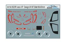 H0/1:87 0523-R Iveco Design Decalsatz
