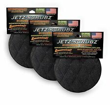 Jetz Scrubz Round Non Scratch Scrubber Kitchen Sponge 3 PACK - Dishwasher Safe
