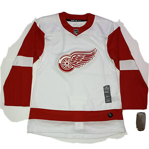 NWT Adidas NHL Detroit Red Wings Hockey Jersey White CA7085 Size 46