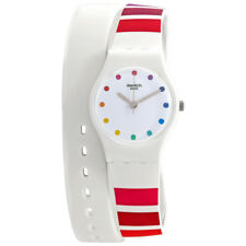 Swatch Colorao White Dial Ladies Watch LW149