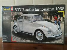 Revell 1/24 No 07083 VW Beetle Limousine 1968 Kever Plastic Modelkit 2013