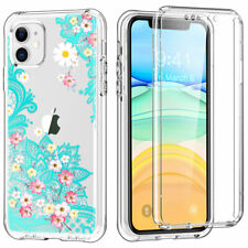 Shockproof Case For iPhone 11 XR Front &Back Protection Clear Pattern Hard Cover