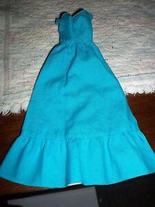 Vintage 1970's Barbie doll's blue dress