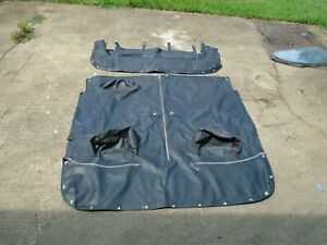 MG Midget Tonneau and Boot Covers