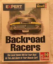 Expert Software BACKROAD RACERS Windows 95 Revell Series Factory Sealed DOS