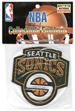 2001-07 Seattle Supersonics Oficial Baloncesto NBA Equipo Parche Mint En Paquete