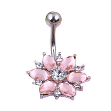Piercing Attractive Nice Dance Navel Belly Button Rings Umbilical Nail Body