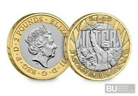 BRAND NEW 2020 UK VE Day 75 Years CERTIFIED BU £2 coin(Brilliant Uncirculated)