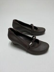 CROCS Women's Mary Jane Wedge HeelShoe Size 9