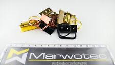 Schlüsselband Rohling Schlüsselanhänger Klemmschließe 20mm 25mm 30 mm Gurtband