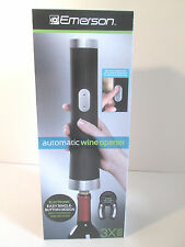New listing Emerson Automatic Wine Opener Electronic Easy Single Button Design Nib