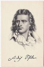 FRIEDRICH VON SCHILLER - German Poet / Playwright - c1900s era Stengel postcard