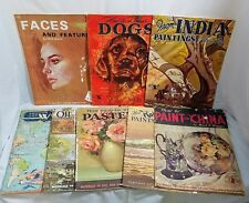 8 Walter Foster Painting Books Arul Raj Drawing Dogs Fritz Willis Pastels Oils