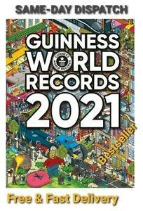 Guinness World Records 2021   New   2021  BESTSELLER   RRP: £20    Yours: £12