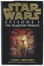 Star Wars Episode I The Phantom Menace Terry Brooks Century 1999 First Edition
