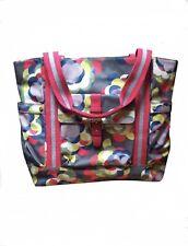 Fantastic LADIES Oil Cloth BODEN Bag Shopper Multi- Coloured Travel Bag 💼