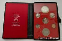 1973 Canada 7 Coin Prestige Silver Dollar Specimen Set ORIGINAL! #coinsofcanada