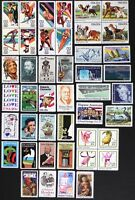 US 1984 USA Commemorative collection, Year Set, made up of 44 stamps Mint NH