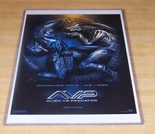 Alien Vs Predator 11X17 AVP Alien Predator symbol Teaser Movie Poster