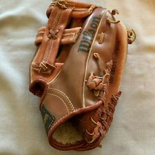JOE CARTER AUTOGRAPHED BASEBALL GLOVE WILSON HIS OWN SIGNED MODEL FIELDMASTER
