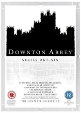 DOWNTON ABBEY COMPLETE COLLECTION 2016 DVD NEW