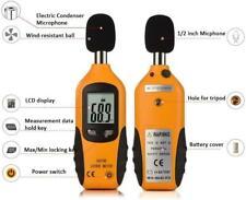 Decibel Meter Digital Sound Level Meter 30 130 Db Audio Noise