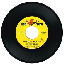 The Jelly Beans 1964 Red Bird 45rpm I Wanna Love Him So Bad b/w So Long NS